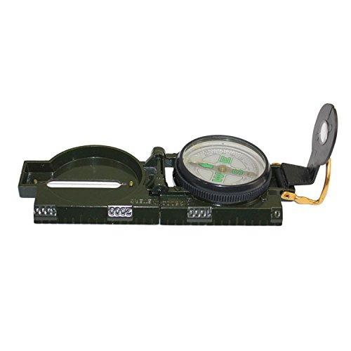Wanderkompass Peil & Marschkompass Taschenkompass Metall Bundeswehr Kompass Militär von der Marke PRECORN