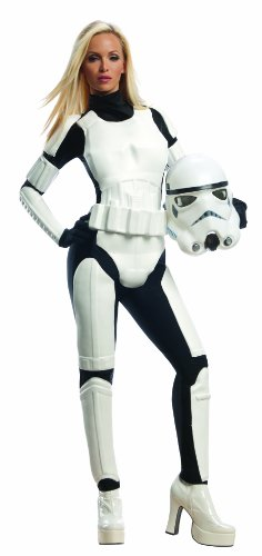 Stormtrooper - Female - Star Wars - Adult Kostüm - Large - Größe (Kostüme Wars Star Stormtrooper)