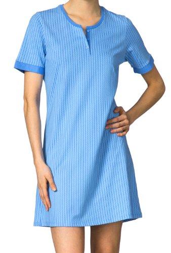 Calida colour-fard à joues-big t-shirt manches courtes pour femme Rose - 523 azur