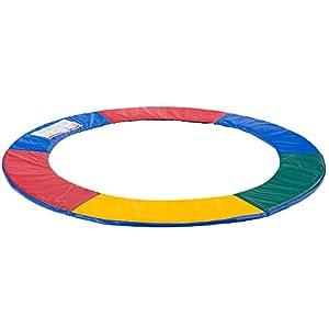 Arebos Trampolin Randabdeckung / 183, 244, 305, 366, 396, 427, 457 oder 487 cm/Mehrfarbig