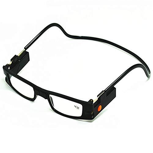 ef30975ae4 Gafas de lectura LED con lámpara Colgar Tipo de cuello Imán Gafas.