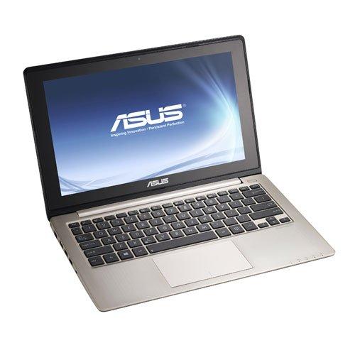 Asus VivoBook S200E 29,5cm (11,6 Zoll) Netbook (Intel Core i3 3217U, 1,8 GHz, 4 GB RAM, 500 GB HDD, Intel HD, Touchscreen, Win 8) grau ,QWERTZ -
