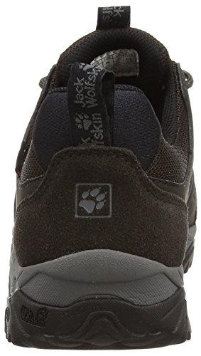 Jack Wolfskin Mtn Storm Texapore Low W, Chaussures de Randonnée Basses Femme Gris (Tarmac Grey)