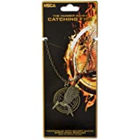 The Hunger Games Catching Fire Mockingjay with Secret Quote Necklace