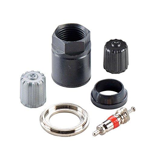 1x TPMS Kit TPMS riparazione kit C02 per Conti TG1B Hofmann Power Weight | TPMS auto sensor kit di riparazione valvola