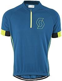 Scott endurance 40 camiseta azul/verde 2015