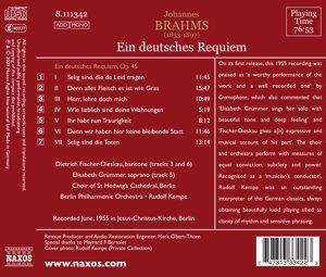 Brahms : Ein deutsches Requiem