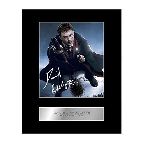 Foto firmada por Daniel Radcliffe Harry Potter # 01