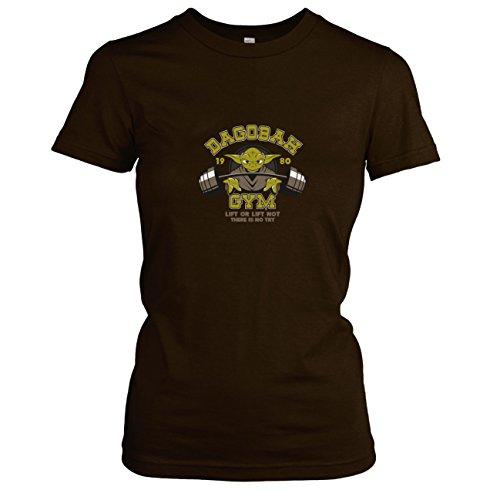 TEXLAB - Yoda Gym - Damen T-Shirt Braun