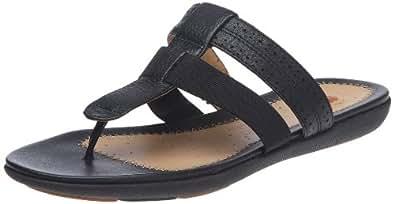 Clarks Un Sheena 20348796, Damen Clogs & Pantoletten, Schwarz (Black Leather), EU 35.5 (UK 3)
