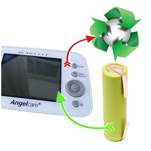 Akkuwechsel Akkutausch für Angelcare Babywächter u.a. AC1300 D AC517 D AC201 R - AC300 D - AC420 D - AC403 D - AC423 D