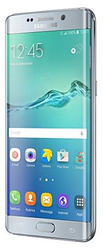 Samsung Galaxy S6 Edge Plus Smartphone da 64 GB, Argento [Italia]