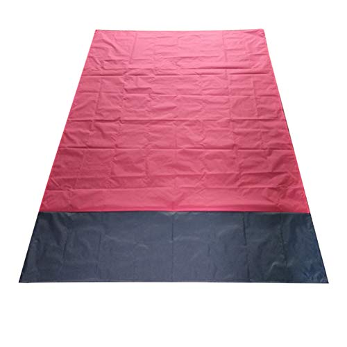 Picknickdecke Stranddecke Strandmatte 200 x 140 cm von kinnter,Sandfreie Picknickdecke Campingdecke aus Weiches Nylon mit Tasche Wasserdicht