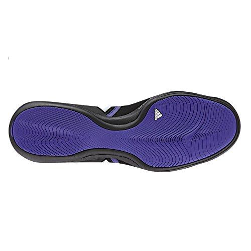 adidas Boxfit 3 Hommes Boxing Baskets Noir/ Violet Blanc CoreBlackWhite