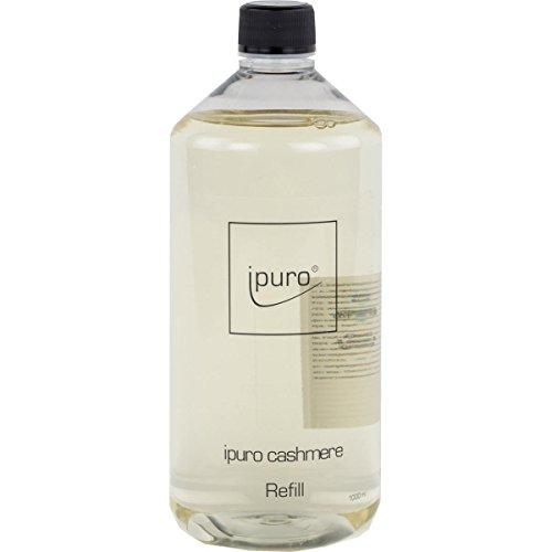 Ipuro Luxus Line cashmere 1 Liter Nachfüllflasche inkl. 5 Faserstäbchen