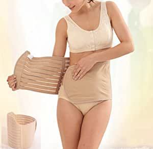 Gotobuy - 84cm Postpartum Recovery Belly Abdomen Waist Belt Invisible Slimming Tummy Belt Wrap Girdle Belt —— Please Make Sure if the Size is Suitable before Purchasing