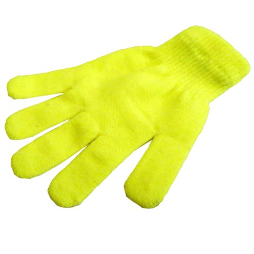 Brubaker Fashion Handschuhe Gr. S M L (Einheitsgröße) Neon Gelb