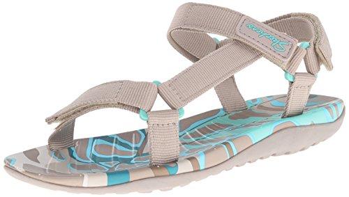 Skechers Cali Reisende Morning Dew Sport Sandale Taupe