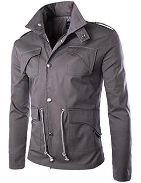 [Patrocinado]Ropa de abrigo para hombre, RETUROM Venta caliente de algodón casual de los hombres y el abrigo de mezcla capa...