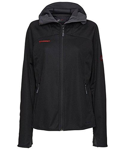 Für Xs Ski-jacke Frau (Mammut Damen Jacke Ultimate Hoody, Black, XS, 1010-14930-0052-112)
