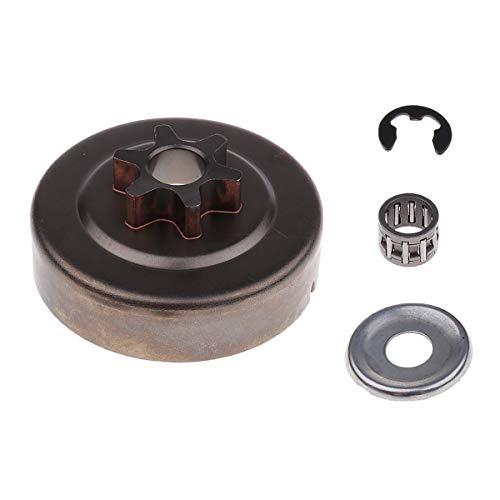3/8 6T Kupplungsscheiben - Unterlegscheibe E - Clip - Kit für STIHL Kettensäge 018 Ms 180 Praktisch -