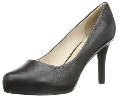 Rockport Womens STO7H95 Plain Pump Court Shoes Black II 40 EU