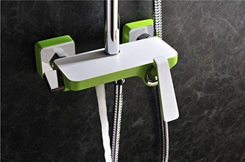 ersönlichkeit Sprinkler, voll Kupfer Dusche, Dusche, candy Dusche, Grün Weiß Lack ()