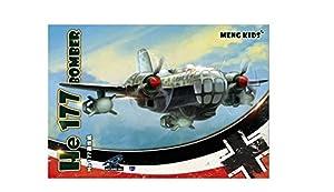 Meng Modelo Kids He 177Bomber edición Especial Kit (Blanco)