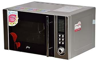 Godrej 23 L Convection Microwave Oven (GMX 23CA1 MKM, Sliver)FREE Godrej Starter kit