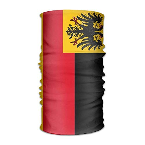 Rghkjlp Flagge von Deutschland Unisex-Outdoor-Sportschal-Stirnbänder Bandana-Maske Halsmanschette Kopfwickel Schweißband Kopfbedeckung ()