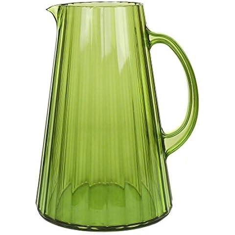 Pusher Ginevra Caraffa, Plastica, Verde, 20x23x15 cm