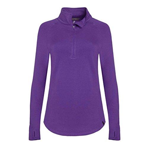tasc Performance Damen North Star II Fleece 1/2Zip Top, damen, Plumberry 1/2 Zip Fleece Top