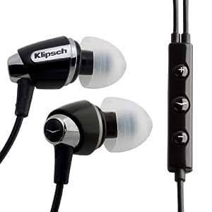Klipsch Image S4i Headphones -with built-in mic (iPhone Compatible)