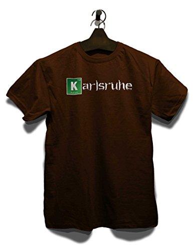 Karlsruhe T-Shirt Braun