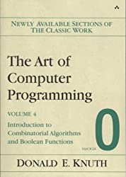 (The Art of Computer Programming, Fascicle 0: Introduction to Combinatorial Algorithms and Boolean Functions) By Knuth, Donald E. (Author) Paperback on (05 , 2008)