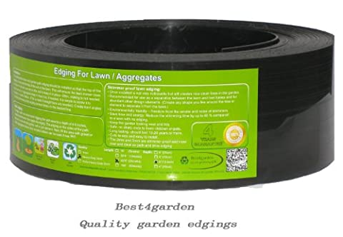 Lawn edging, Recycled Plastic Edging for 'neat edge' perfect for