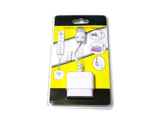 PS2 controller Wii remote control conversion adapter cable (japan import) by D8