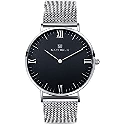 Marc Brüg Ladie's Minimalist Watch Elysee 36 Black Hygge