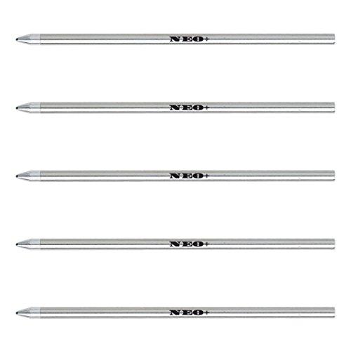 Smartpen Livescribe 3Kompatibel Kugelschreiberminen, Länge 67mm, D1. Schwarz, Blau oder Rot Tinte. 67 mm 5 x Blue ink