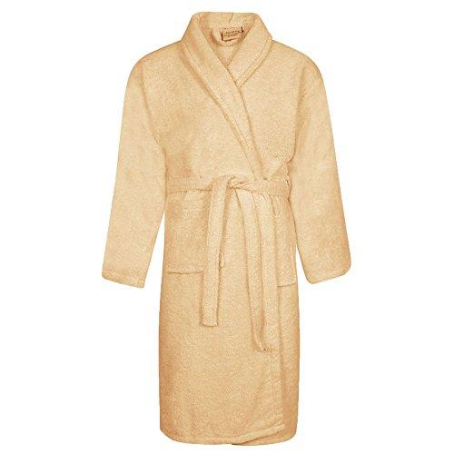 Royal Comfort - Vestaglia -  donna Beige L / XL