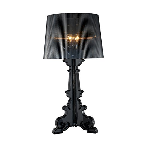 FGHOME persönlichkeit Kreativität Barock Ghost tischlampe moderne Studie lampe wohnzimmer Einfache nachttischlampe für schlafzimmer Cafe tischlampe Bar tischlampe (Schwarz)