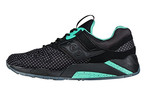 Baskets Saucony Grid 9000 Noir Noir