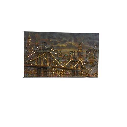 JB LED Rahmen mit Brooklyn Brigde -