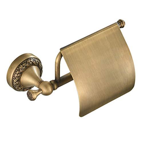 QTT Badezimmer Kupfer Anhänger Retro-Tissue-Box Rollenhalter Papierhandtuchhalter