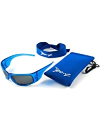 JBanz Sunglasses - Blue Wraparound