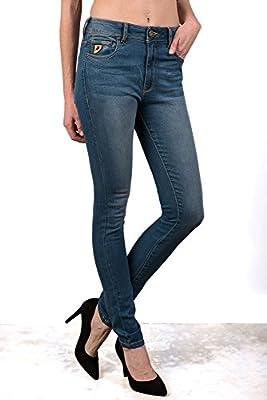 LOIS - Pantalon Susa Airsa, Mujer, Color Denim, Talla 31