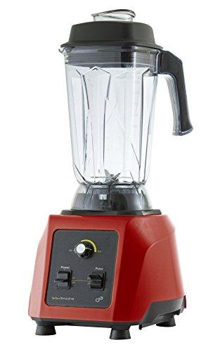G21 Perfect Smoothie - Licuadora profesional, 1500 W, color rojo