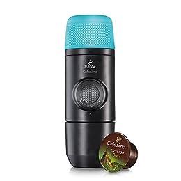 Tchibo Cafissimo Pocket (Kapsel Kaffeemaschine für unterwegs, auf Reisen, beim Camping)
