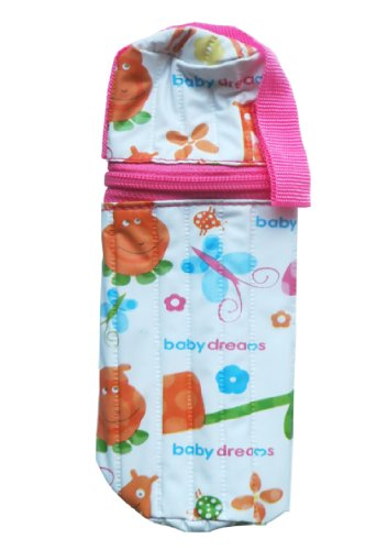Baby Dreams Feeding Bottle cover- Cylindrical for 250ml Bottle (Pink)