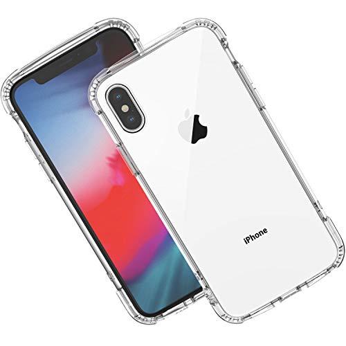 Syncwire Hülle Kompatibel mit iPhone X/XS, [Armour Serie] iPhone X Handyhülle Case, Schutzhülle mit Air Cushion Safeguard Fallschutz-Technologie für das Apple iPhone X/XS/10, Transparent